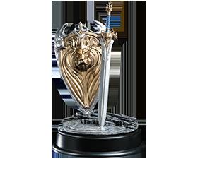 魔兽国王剑盾1:6模型套装